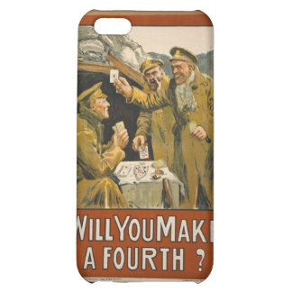 WWI Will You Make a Fourth? iPhone 5C Case