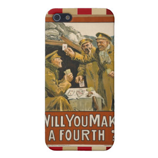 WWI Will You Make a Fourth? Covers For iPhone 5