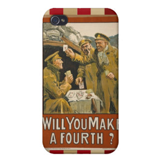 WWI Will You Make a Fourth? iPhone 4/4S Covers