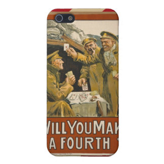 WWI Will You Make a Fourth? iPhone 5 Covers