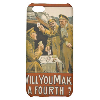 WWI Will You Make a Fourth? Case For iPhone 5C