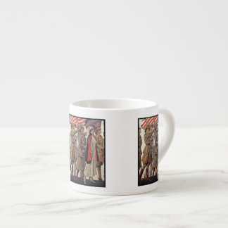 WWI Women Nursing Recruits Espresso Cup