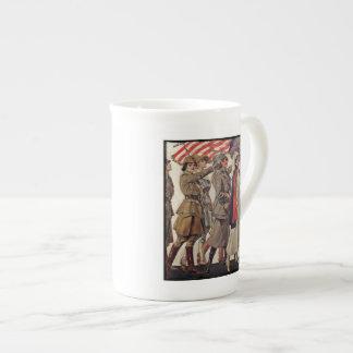 WWI Women Nursing Recruits Porcelain Mugs