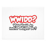 WWIDD...What Would an Interior Designer Do? Custom Invite