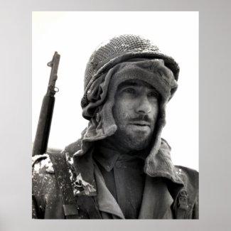 WWII 83rd Division Infantryman print