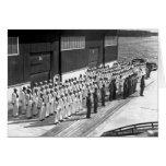 WWII: A bordo de USS Asheville (PF-1) Felicitación