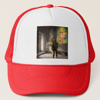 WWII - A prayer for Courage 1940 Trucker Hat