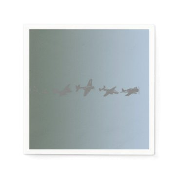 shelbysemail2 WWII Aircraft Paper Napkin
