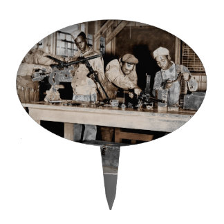 WWII Airmen Armorers Cake Topper