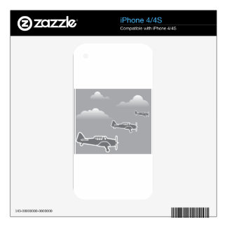 WWII Airplanes Skin For The iPhone 4