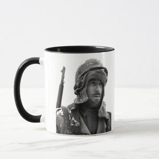 WWII American Infantryman Mug