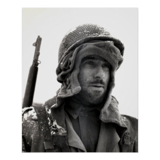 WWII American Infantryman Poster