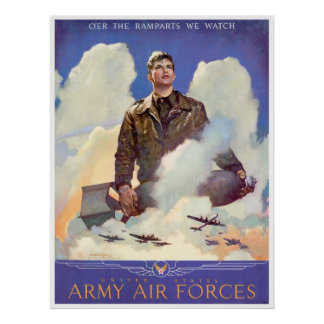 WWII Army Airforces Enlistment Poster
