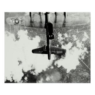 WWII B-17 Friendly Fire Incident no.1 Poster
