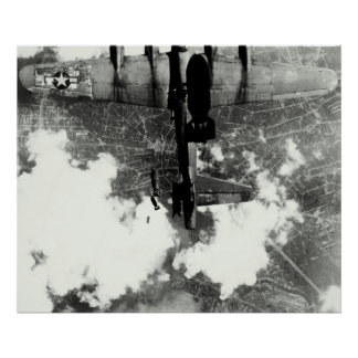WWII B-17 Friendly Fire Incident no.2 Poster