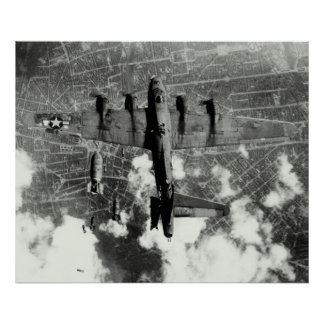 WWII B-17 Friendly Fire Incident no.3 Poster