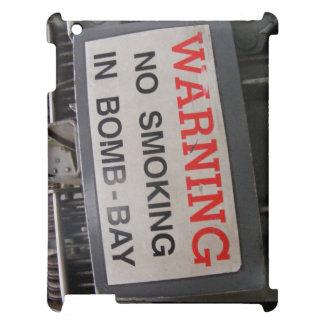 WWII B-24 Liberator - Bomb Bay Sign. iPad Case