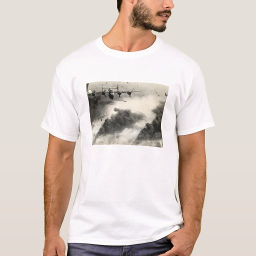 WWII B-24s over Ploesti Oil Fields T-Shirt