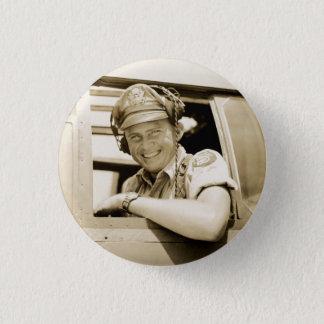 WWII B-25 Mitchell Pilot Button