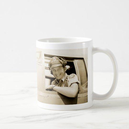 WWII B-25 Mitchell Pilot Coffee Mug