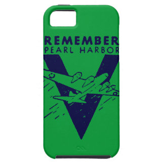 WWII Blue Remember Pearl Harbor iPhone SE/5/5s Case