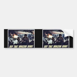 Wwii Bonds18 Car Bumper Sticker