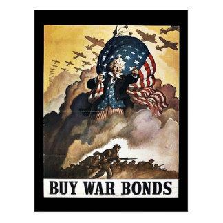 Wwii Bonds21 Tarjeta Postal
