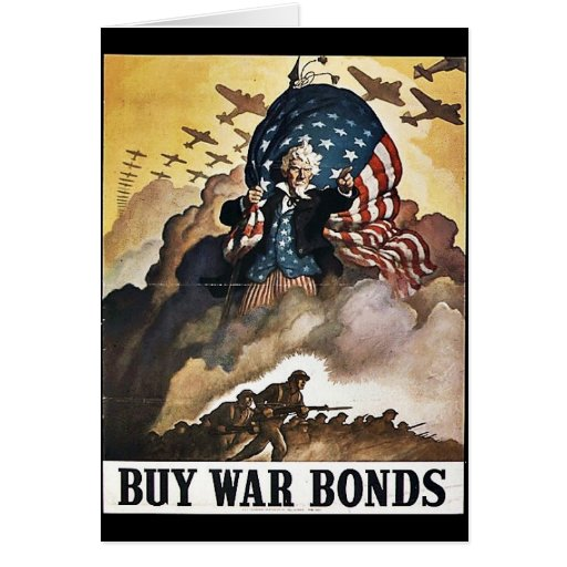 Wwii Bonds21 Tarjeton