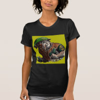 WWII bulldog dog soldier Sgt. Rover T-Shirt