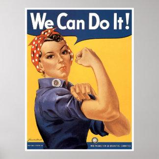 WWII clásico podemos hacerlo Posters