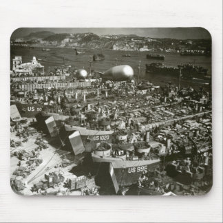 WWII D-Day in Southern France Mouse Pad