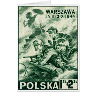 WWII Defenders of Warsaw Cards