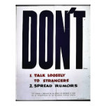 Wwii Dont Talk6 Flyers
