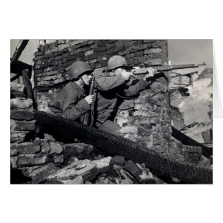 WWII Dutch Snipers Card