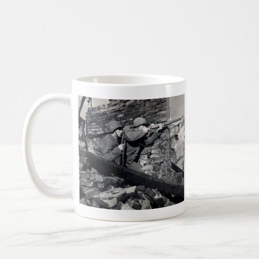WWII Dutch Snipers Classic White Coffee Mug