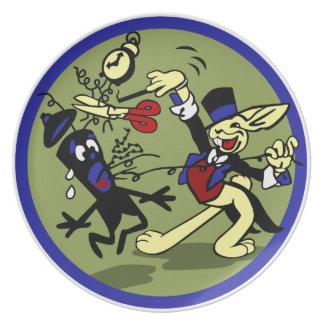 WWII EOD Rabbit Melamine Plate