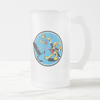 WWII EOD Rabbit Frosted Beer Mug