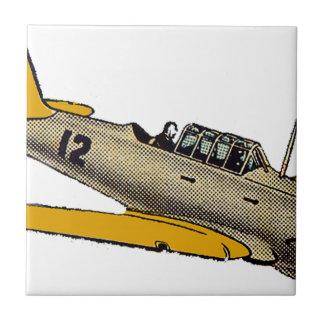 WWII Era Navy Plane Ceramic Tile