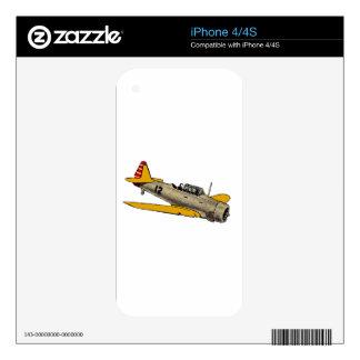 WWII Era Navy Plane iPhone 4S Skin