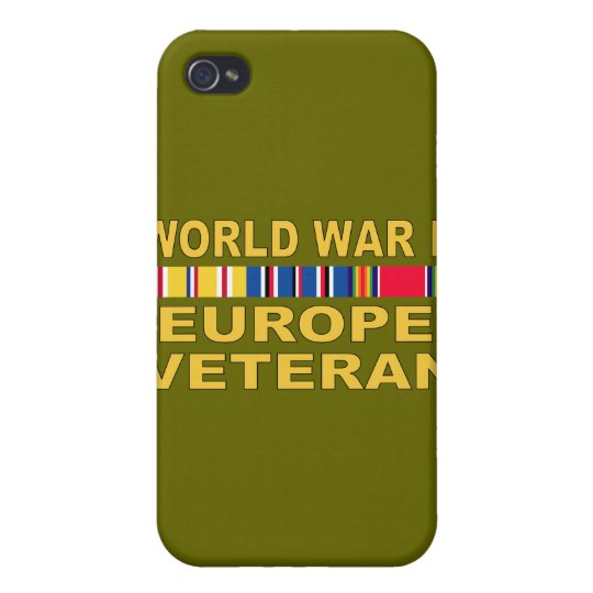 WWII Europe Veteran iPhone 4 Cover