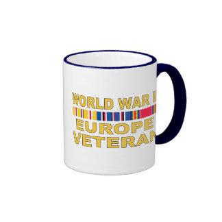 WWII Europe Veteran Ringer Mug