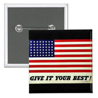 Wwii Flag48 Pinback Button