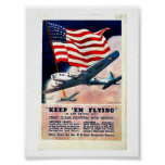 Wwii Flying1 Poster