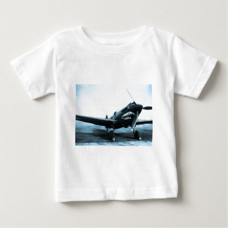 WWII Flying Tigers Curtiss P-40 Fighter Plane Infant T-shirt