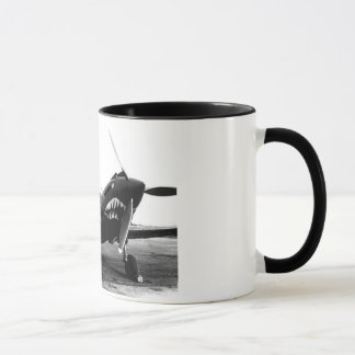 WWII Flying Tigers Curtiss P-40 Fighter Plane Mug