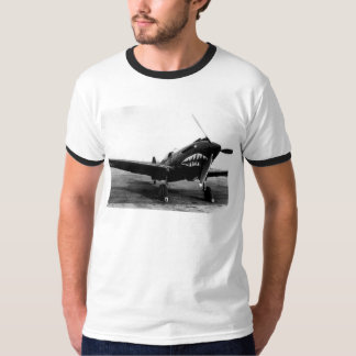 WWII Flying Tigers Curtiss P-40 Fighter Plane T-Shirt