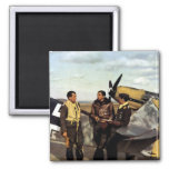 WWII German ME-109 Pilots Fridge Magnet