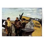 WWII German ME-109 Pilots Greeting Card