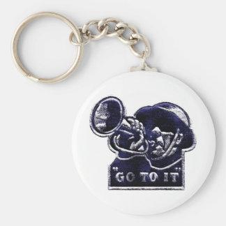 WWII Go to it ! Key Chain