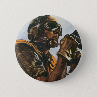 WWII Gunner Button